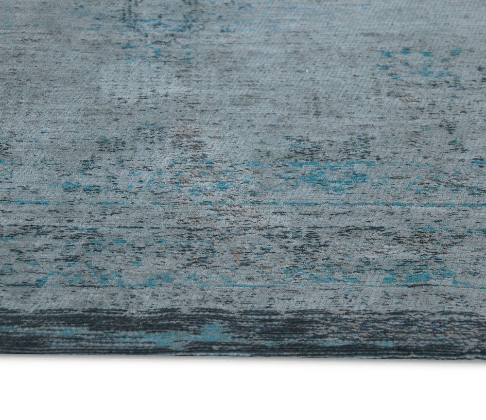 Louis De Poortere Fading World Grey Turquoise 8255 Rug