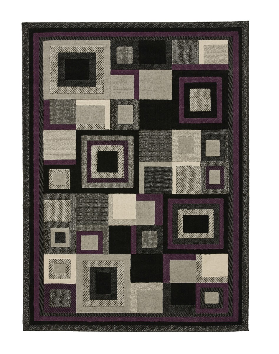 HUD3222 Black/Purple