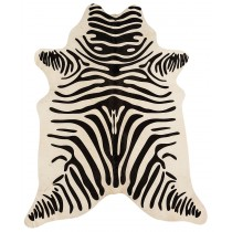 Zebra Print on White