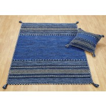Blue Cushion (Pack of 2)