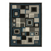 HUD3222 Black/Blue Runner