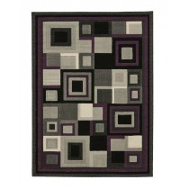 HUD3222 Black/Purple Runner