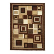HUD3222 Brown/Beige Runner